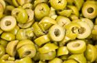 4LT SLICED GREEN OLIVES