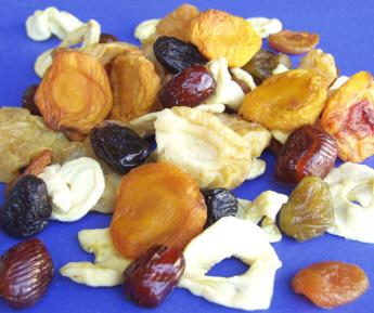 25LB DRIED MIXED FRUIT