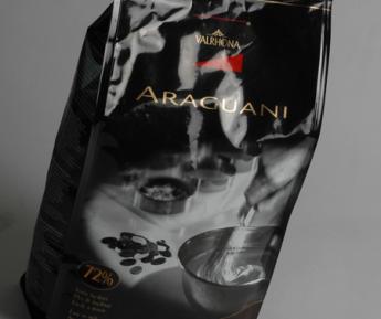 3KG VALRHONA ARAGUANI 72% CHOCOLATE PISTOLES
