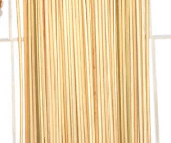 100/PK 6″ BAMBOO SKEWERS*