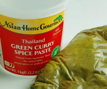 1KG GREEN BASIL CURRY PASTE