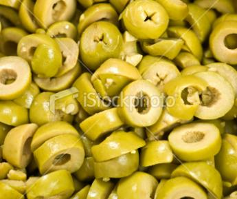 4LT SLICED GREEN OLIVES