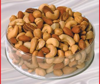 25LB DELUXE MIXED NUTS  *